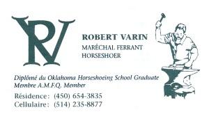 Carte Robert Varin